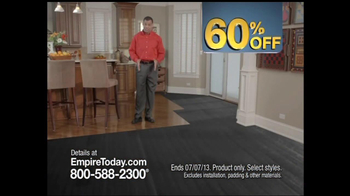 Empire Today 60% Off Sale TV Spot - Thumbnail 2