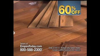Empire Today 60% Off Sale TV Spot - Thumbnail 3
