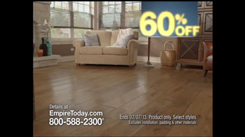 Empire Today 60% Off Sale TV Spot - Thumbnail 4