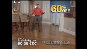 Empire Today 60% Off Sale TV Spot - Thumbnail 7
