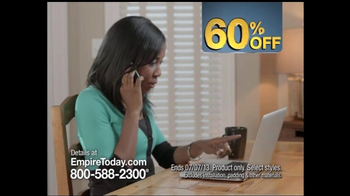 Empire Today 60% Off Sale TV Spot - Thumbnail 8