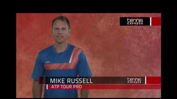 Tennis Express TV Spot Featuring Mike Russell - Thumbnail 1