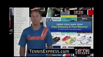 Tennis Express TV Spot Featuring Mike Russell - Thumbnail 10