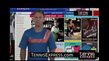 Tennis Express TV Spot Featuring Mike Russell - Thumbnail 6
