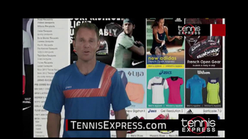 Tennis Express TV Spot Featuring Mike Russell - Thumbnail 8