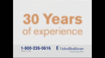 United Healthcare Dual Complete TV Spot, 'Years of Experience' - Thumbnail 8