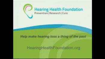Hearing Health Foundation TV Spot, 'Veterans' - Thumbnail 10