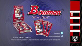 Bowman Cards TV Spot - Thumbnail 9