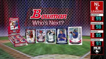 Bowman Cards TV Spot - Thumbnail 8