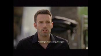 Feeding America TV Spot Featuring Ben Affleck - 7 commercial airings