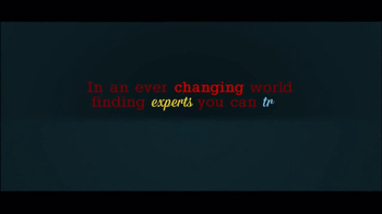 America's Premier Experts TV Spot, 'Ever Chaning World' - Thumbnail 2