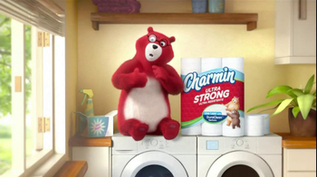 Charmin Ultra Strong TV Spot,' Laundry'