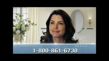 Spraywhite 90 TV Spot, 'Whiter, Brighter, Sexier Smile' - Thumbnail 6