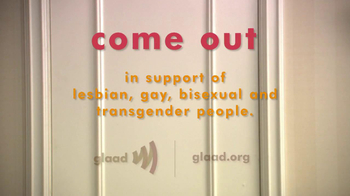 GLAAD TV Spot, 'Coming Out' Featuring Tamala Jones - Thumbnail 7