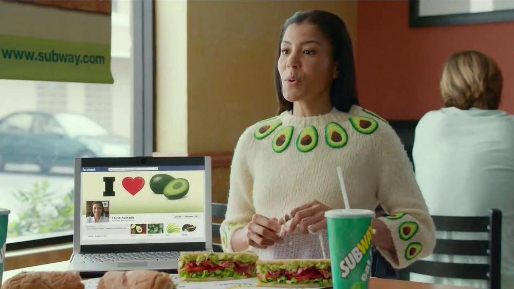 Subway Turkey and Bacon Avocado TV Commercial, 'Avocado Love'