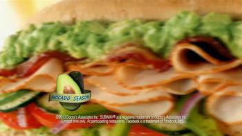 Subway Turkey and Bacon Avocado TV Spot, 'Avocado Love' - Thumbnail 10