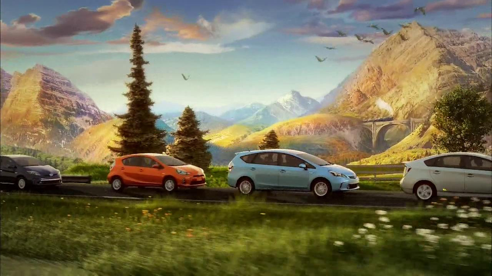 Toyota Prius Family TV Commercial, 'Mile After Mile ...