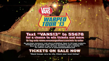 Vans Warped Tour '13 TV Spot - Thumbnail 10