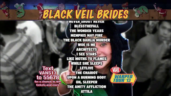 Vans Warped Tour '13 TV Spot - Thumbnail 6