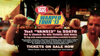 Vans Warped Tour '13 TV Spot - Thumbnail 9