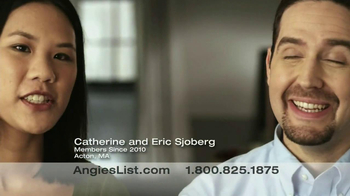 Angie's List TV Spot, 'Catherine and Eric Sjoberg' - Thumbnail 2