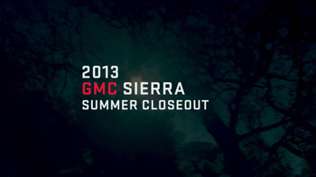 GMC Sierra Summer Closeout TV Spot - Thumbnail 1