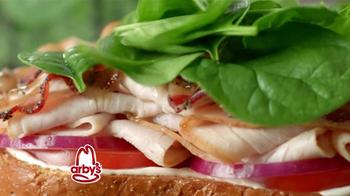 Arby's Market Fresh Turkey Bacon Florentine TV Spot - Thumbnail 2