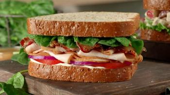 Arby's Market Fresh Turkey Bacon Florentine TV Spot - Thumbnail 8