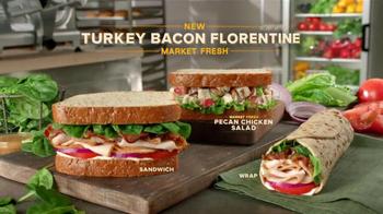 Arby's Market Fresh Turkey Bacon Florentine TV Spot - Thumbnail 9