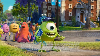 Subway TV Spot, 'Monsters University: Getting In' - Thumbnail 5