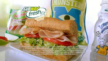 Subway TV Spot, 'Monsters University: Getting In' - Thumbnail 6