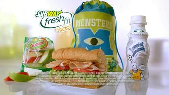 Subway TV Spot, 'Monsters University: Getting In' - Thumbnail 7