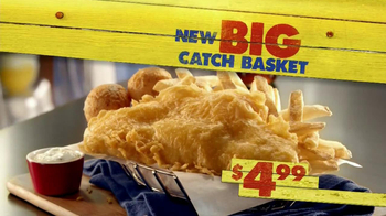 Long John Silver's Big Catch Basket TV Spot - Thumbnail 9