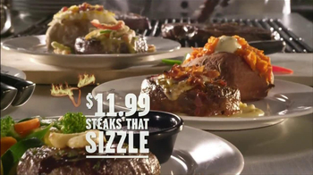 Longhorn Steakhouse Steaks that Sizzle TV Spot