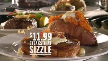 Longhorn Steakhouse Steaks that Sizzle TV Spot - Thumbnail 6