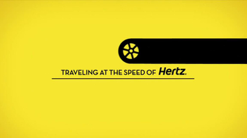 Hertz TV Spot, 'Zap Technology: Arrival' Feat. Owen Wilson - Thumbnail 1