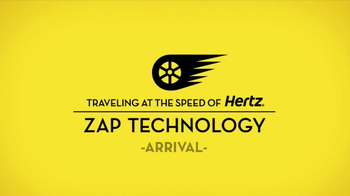 Hertz TV Spot, 'Zap Technology: Arrival' Feat. Owen Wilson - Thumbnail 2