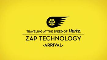 Hertz TV Spot, 'Zap Technology: Arrival' Feat. Owen Wilson - Thumbnail 3