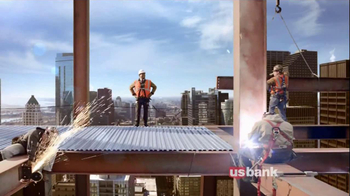 U.S. Bank TV Spot, 'Construction Site' - Thumbnail 6