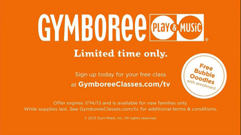 Gymboree Play & Music TV Spot, 'Class with Oodles of Bubbles' - Thumbnail 10