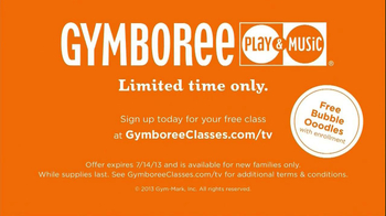 Gymboree Play & Music TV Spot, 'Class with Oodles of Bubbles' - Thumbnail 9