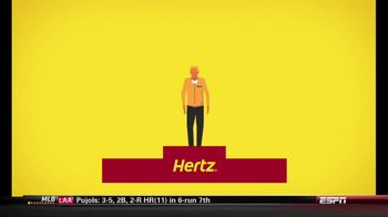 Hertz TV Spot, 'Zagat Rating' Featuring Owen Wilson - Thumbnail 3