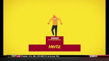Hertz TV Spot, 'Zagat Rating' Featuring Owen Wilson - Thumbnail 4