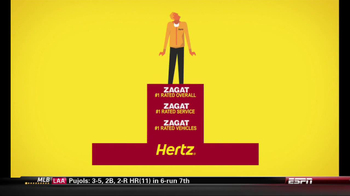 Hertz TV Spot, 'Zagat Rating' Featuring Owen Wilson - 41 commercial airings