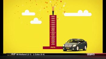 Hertz TV Spot, 'Zagat Rating' Featuring Owen Wilson - Thumbnail 9
