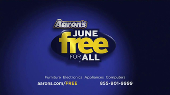 Aaron's Free For All Event TV Spot, 'Dreaming' - Thumbnail 10