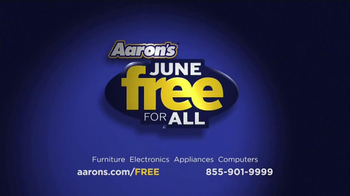 Aaron's Free For All Events TV Spot, 'Tax On Zero' - Thumbnail 9