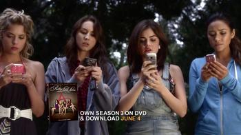 Pretty Little Liars Season 3 DVD & Download TV Spot - Thumbnail 4