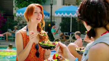 Wendy's Berry Almond Chicken Salad TV Spot - Thumbnail 2