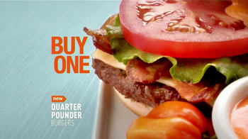 McDonald's Quarter Pounder TV Spot, 'Buy One, Give One' - Thumbnail 4